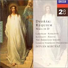 DVORAK: REQUIEM, MASS IN D
