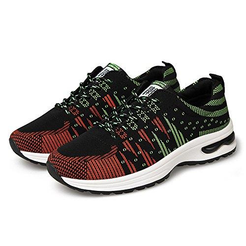 Calzado Running Hombre Zapatillas Deportivas Aire Libre y Deportes Numero 39-44 Verde