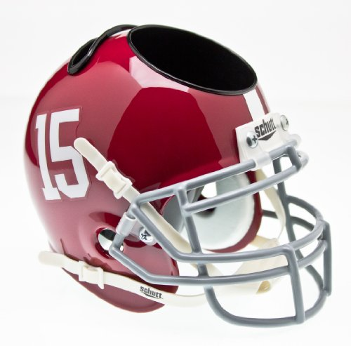 Schutt Sports Alabama Crimson Tide Football Helmet Desk (Crimson Helmet)