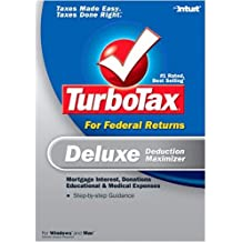 2006 Turbotax Deluxe without State