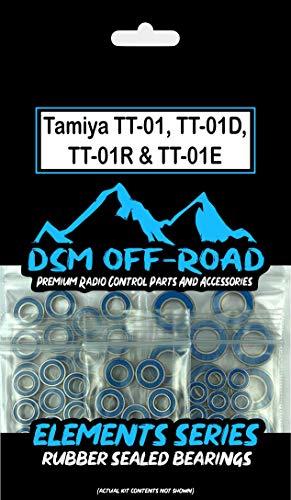 Tamiya TT-01, TT-01D, TT-01R & TT-01E Complete Bearing Kit Set (20 Bearings)