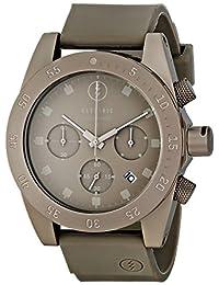 Electric Men's EW0030030010 DW01 PU Band Analog Japanese Quartz Grey Watch