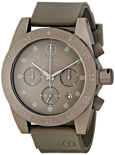 Electric Men's EW0030030010 DW01 PU Band Analog Japanese Quartz Grey Watch