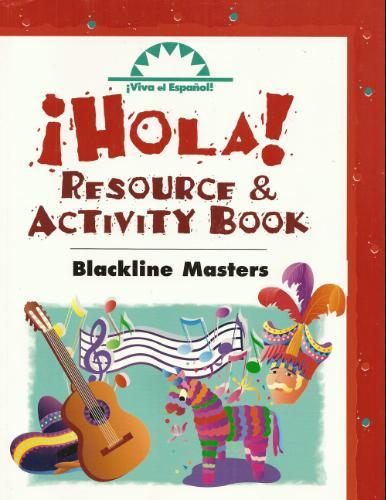 Download Viva el Espanol! Hola! Resource & Activity Book: Blackline Masters (Spanish Edition) PDF