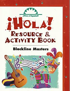 Amazon hola workbook viva el espanol series 9780844209456 resource activity book blackline masters spanish edition fandeluxe Image collections