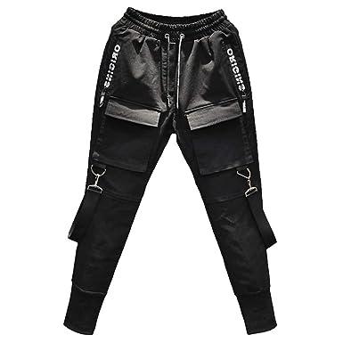 NUSGEAR Pantalones para Hombre Casuales Moda Trabajo Pantalones ...