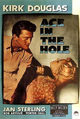 Amazon.com: Ace in the Hole POSTER Movie (27 x 40 Inches - 69cm x 102cm) ( 1951) (Style B): Posters & Prints