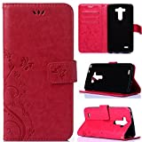 LG G3 Case,LG G3 Wallet Case,Flipcase [Wallet Case] PU Leather Protrctive Wallet Case Flip Stand Case With Card Slots Cover for LG G3#016