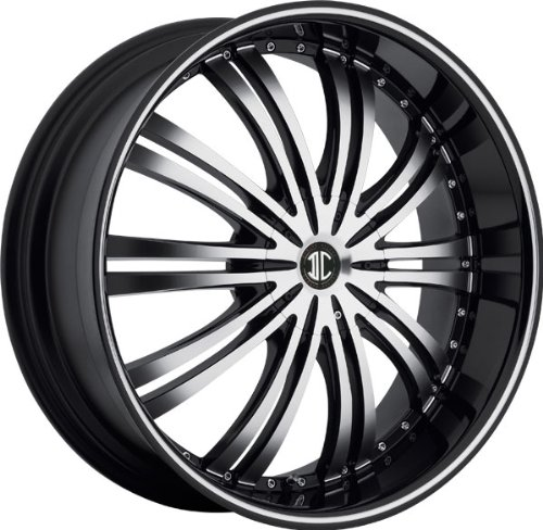"""Black Diamond by 2Crave No.01 Wheel with Painted Finish (17x7""""/8x100mm)"""