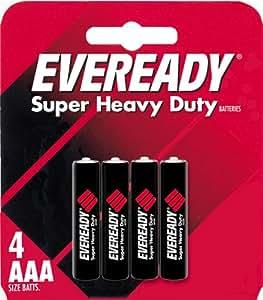Eveready Heavy Duty 1212BP-4 AAA Batteries (4-Pack)