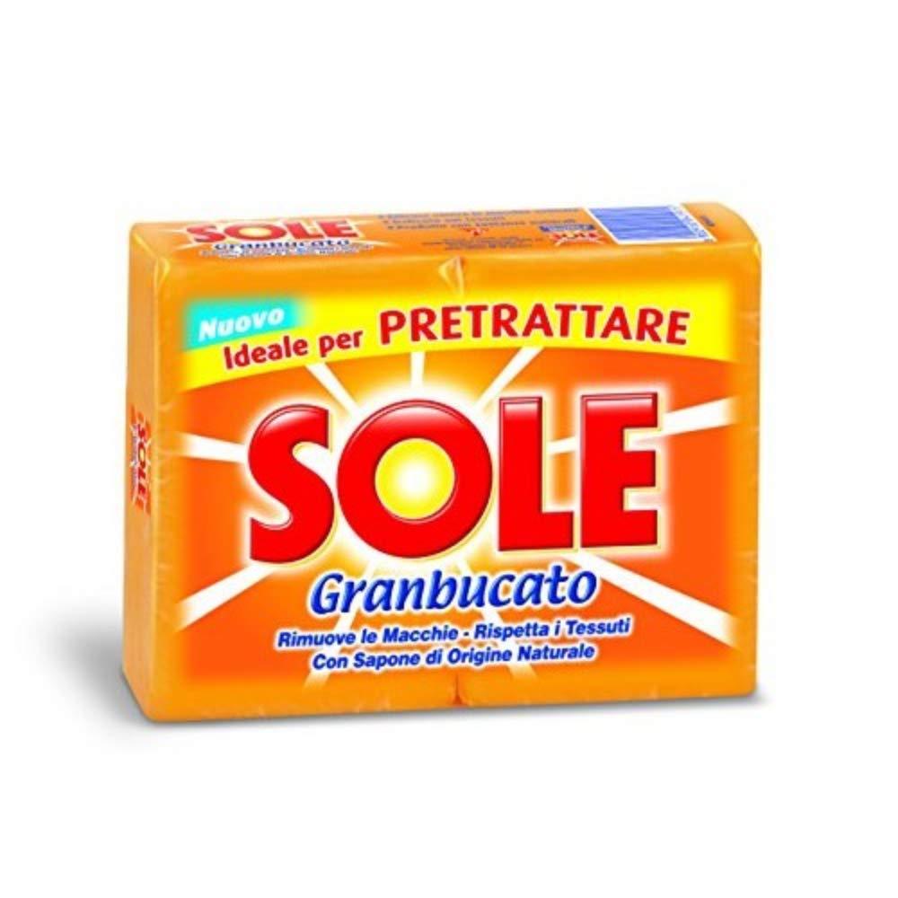 """Sole""""Sole Granbucato"""" Laundry Soap (2X250g) Soaps"""