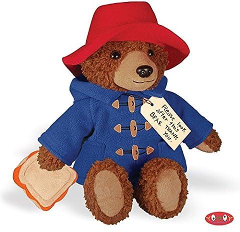 Big Screen Paddington Bear 12 in Soft Toy (Rat Bones Jacket)