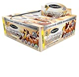 MuscleTech Mission1 Clean Protein Bars, Ultimate Baked Protein Bar, High Protein, Low Fat, Chocolate Chip Cookie Dough, 2.12 Ounce (Pack of 12 - 1.59 Pounds)