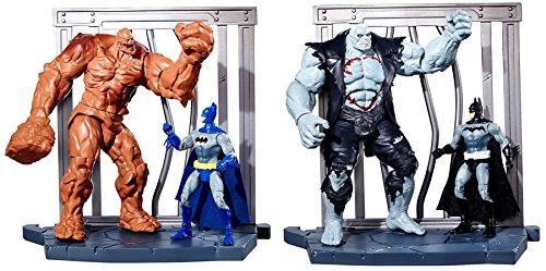 "Batman DC Comics Multiverse Set of 2 World Builder 4"" Action Figure 2-Packs"