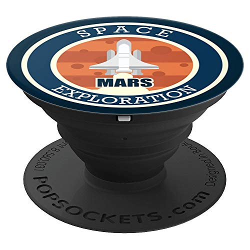 Mars Mission 2020 Space Exploration - PopSockets Grip and Stand for Phones and Tablets