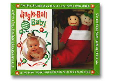 Jingle Bell Baby with Plush Stocking [VHS]