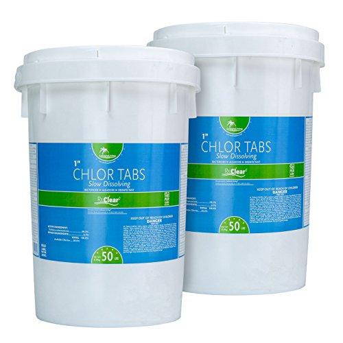 100 chlorine granules - 5