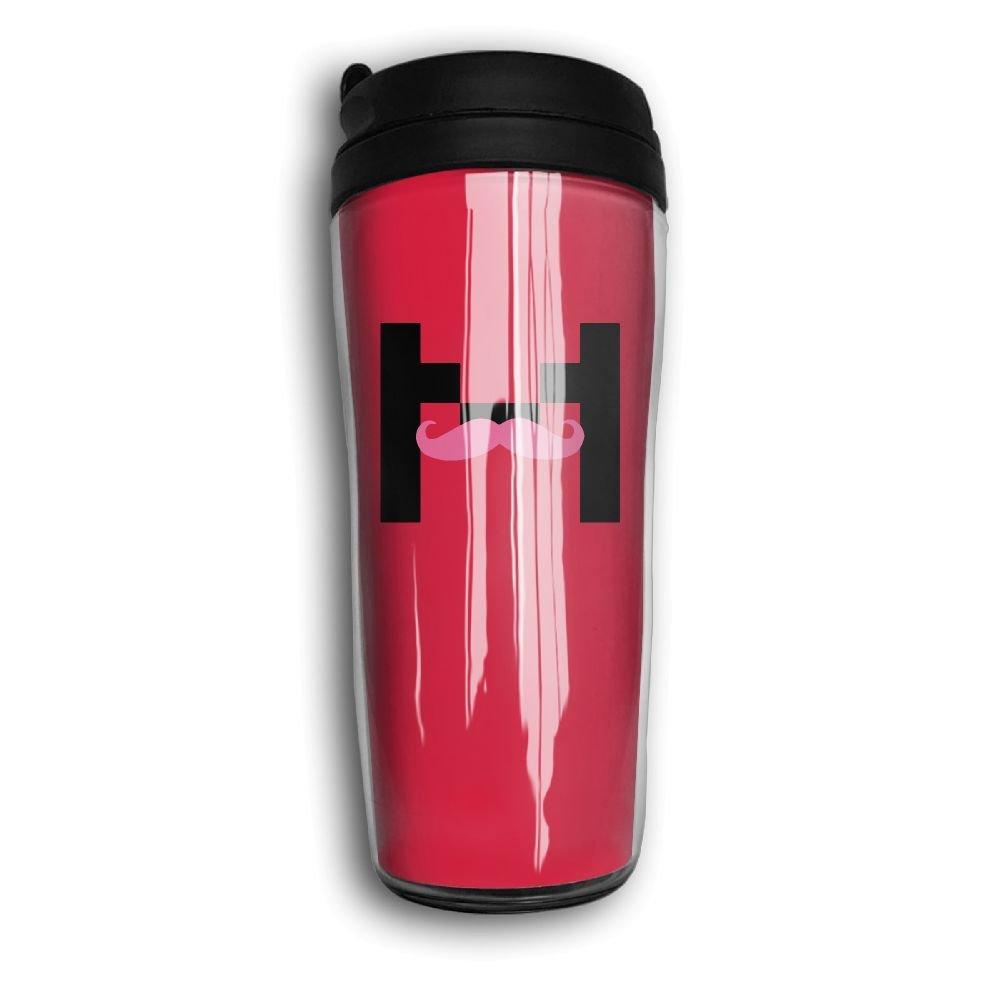 カーブトラベラーコーヒーマグカップ二重壁魔法瓶コーヒーカップ特別なデザイン、markipiarアート   B0792S39T8