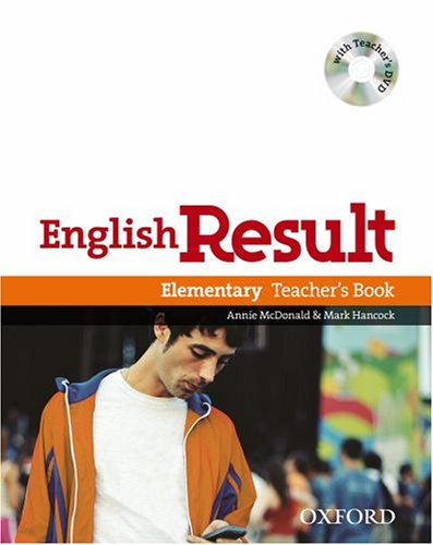 English Result Elementary: Teacher's Book with DVD Pack ebook