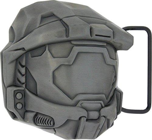 Halo Master Chief Helmet Metal Belt (Metal Licensed Belt Buckle)