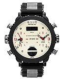 Military Royale Digital Quartz Wrist Watch Rubber Band Sport Army Black