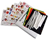 Complete Pictures Kit for Autism Communication: 120 color PHOTOS, 120 dots, 12 strips, 4 pages and folder (pics are compatible with PECS (picture exchange communication system) & ABA