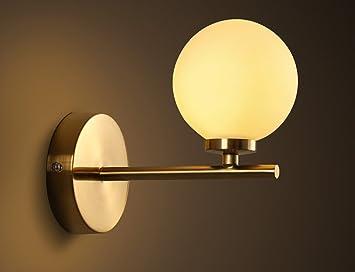 Promising einfache moderne art eisen lampen körper glas