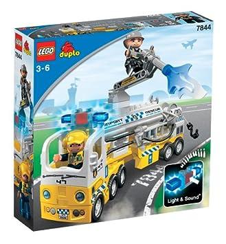 Lego Duplo 7844 Flughafen Löschzug Amazon De Spielzeug