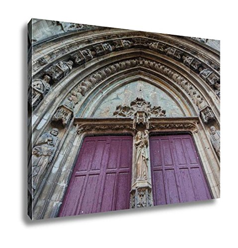 Ashley Canvas, Aix Catholic Cathedral, Home Decoration Office, Ready to Hang, 20x25, AG6513343 by Ashley Canvas