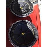 Kicker 10C104 Comp 10 600 Watt 4 Ohm Car Subwoofers (Pair)