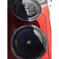 2) New KICKER 10C104 Comp 10 600 Watt 4 Ohm Car Subwoofers Combo C10 10C10-4