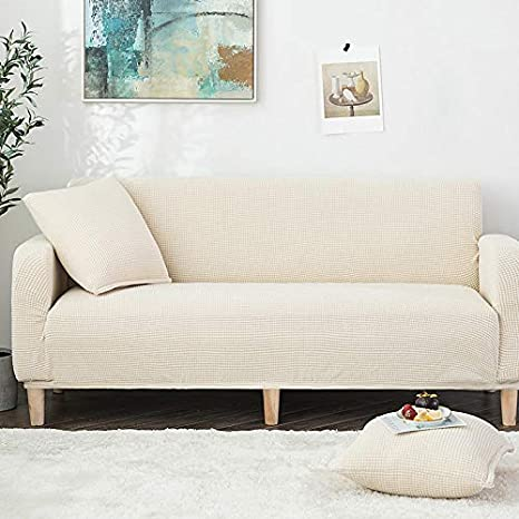 Amazon.com: Modern Sofa Cover Solid Color high Elastic Cover ...