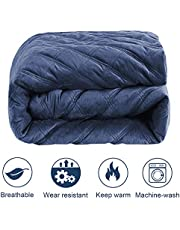 7-Layer Weighted Blankets for Kids 5lbs 36''x48'' Children Soft Cooling Heavy Toddler Bed Blanket Duvet Twin Single Size Quilt with 100% Cotton and Glass Beads-Dark Grey