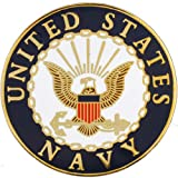 United States Navy Logo Lapel Pin Medal US Military Commemorative Collectibles, Patriotic Veteran Gifts