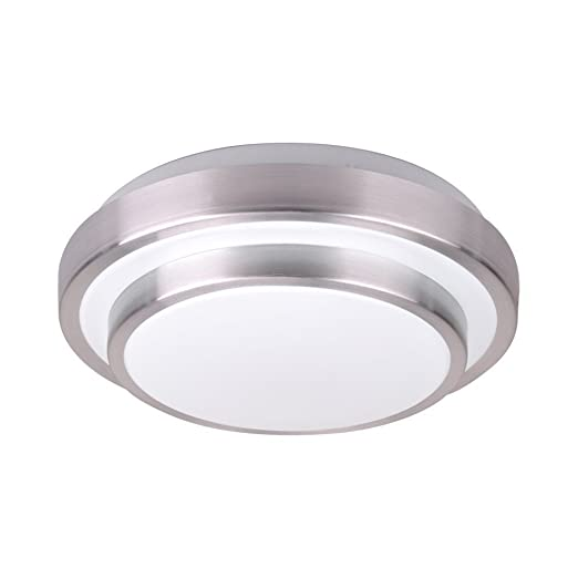 Amazon.com: afsemos LED de 12 W Flush Mount luz de techo ...