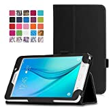 MoKo Samsung Galaxy Tab A 7.0 Case - Slim Folding Cover Case for Samsung Galaxy Tab A 7.0 Inch Tablet SM-T280 / SM-T285 2016 Release, BLACK