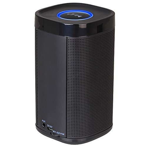 iKANOO Universal Black Color Portable Bluetooth Wireless Stereo Speaker With Stand For ZTE Solar