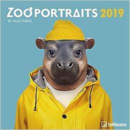 2019 Zoo Portraits Grid Calendar por Teneues Calendars & Stationery epub
