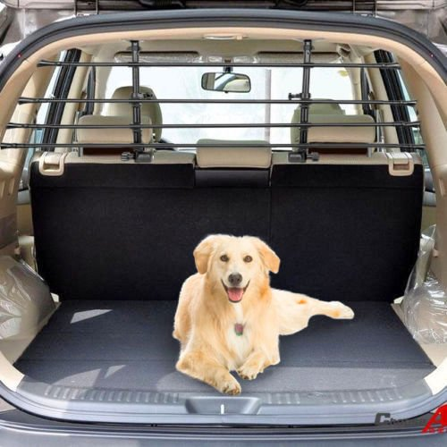 MITSUBISHI SHOGUN PAJERO LWB (1992-2000) Deluxe Pet Dog Guard Adjustable Headrest Safety Barrier K2AUTOPARTS