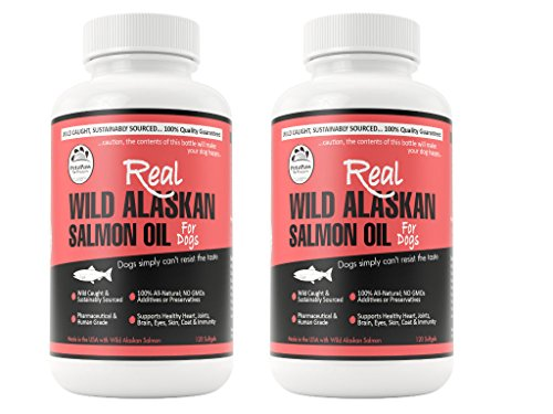 Pet Salmon Oil for Dogs Cats and Horses Made in the USA P...