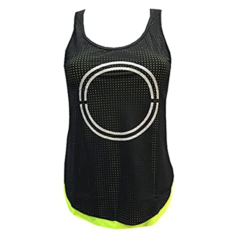 Camiseta Padel Neon Mujer Amaranta Evening- S: Amazon.es ...