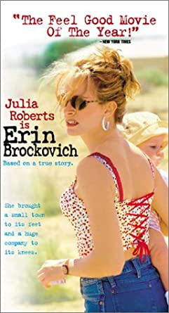 Amazon.com: Erin Brockovich [VHS]: Julia Roberts, Albert Finney: Movies & TV
