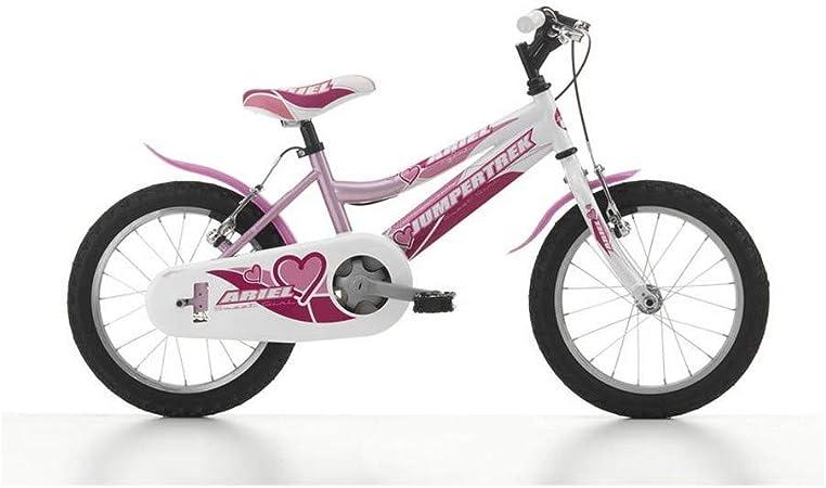 Motodak - Bicicleta Infantil (16 jumpertrek Ariel, Acero para niña ...