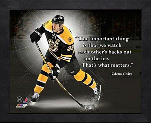 Zdeno Chara Boston Bruins Pro Quotes Photo (Size: 12