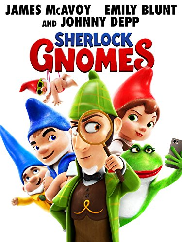 10 Year Old Halloween Movies (Sherlock Gnomes)