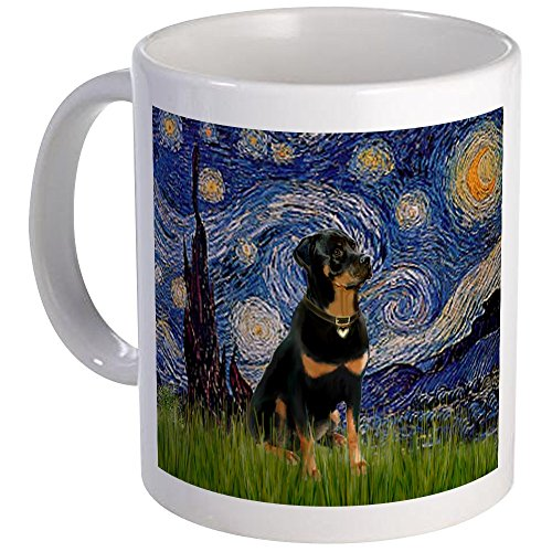 CafePress Starry Rottweiler Unique Coffee