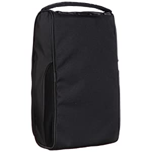 Nike Golf Departure II Golf Shoe Tote Bag, Black/Black