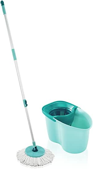 Leifheit Active Clean Twist Spin Mop and Bucket Set