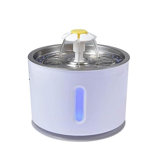 WXGY Dispensador de Agua Inteligente para Mascotas, Fuentes de ...