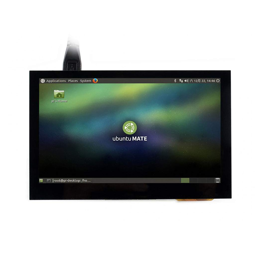 Waveshare 4.3inch HDMI LCD 800x480 IPS Display Supports Various Systems Capacitive Touch Screen Support Beaglebone Black, Banana pi, Raspberry pi Raspbian/Ubuntu/Kali/Retropie/WIN10 IOT